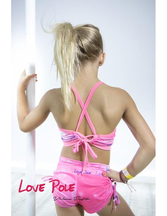 conjunto Love pole Letras